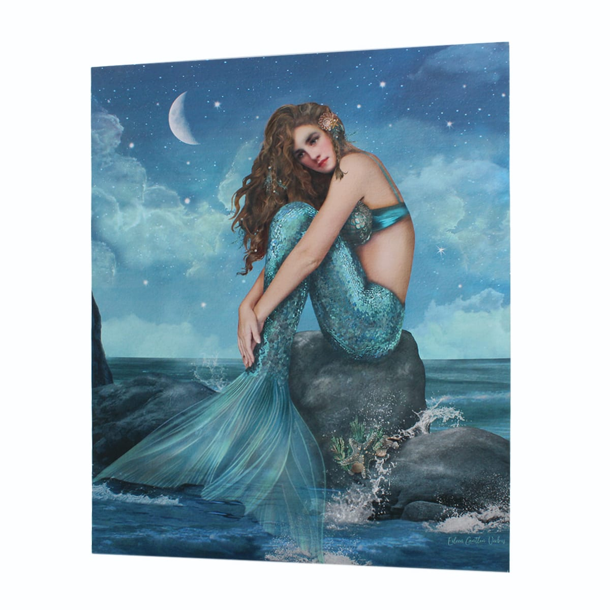 Lighted Mermaid Canvas