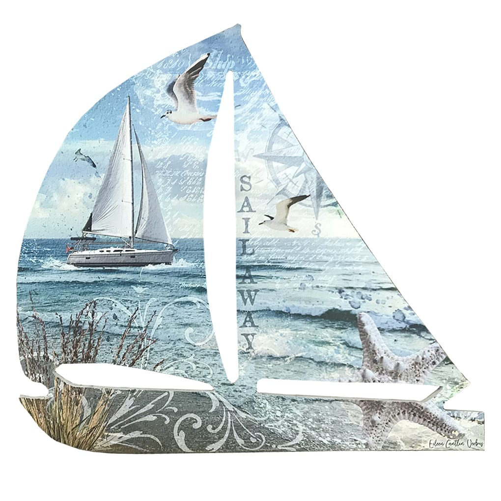 20079 - Sailboat Wall Decor