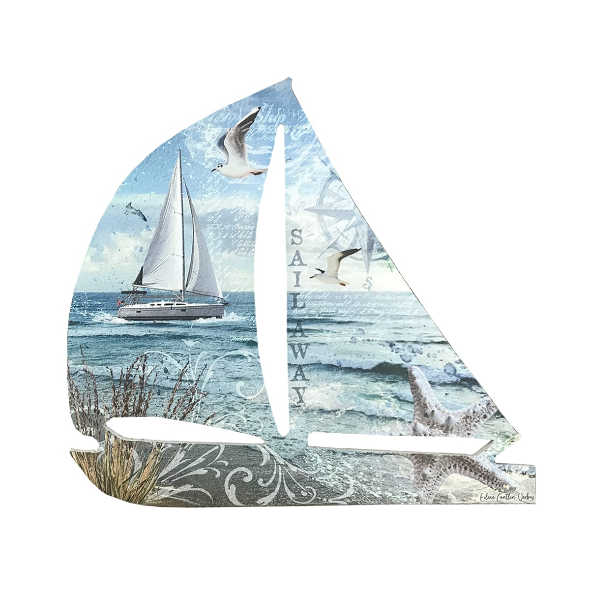 Sailboat Wall Decor