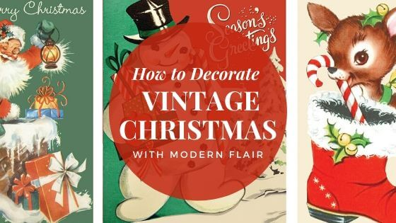 How to Decorate vintage